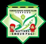 Logo sekolah Taman Kanak-Kanan mutiara embun pagi