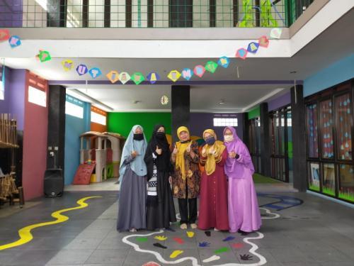 Kunjungan Pengawas TK wilayah Ibun Kabupaten Bandung dalam rangka Monev PPDB TK
